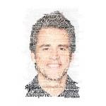 3D Портрет из слов